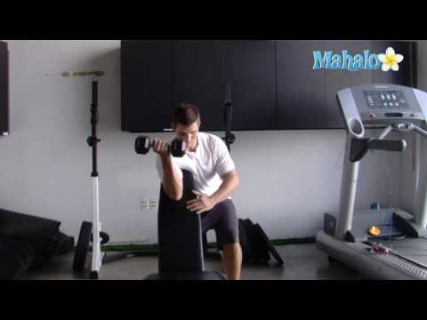 How To Do Single Arm Dumbbell Incline Curls