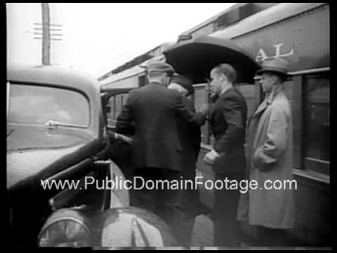 John D. Rockefeller at 97 years old 1936 archival public domain stock footage
