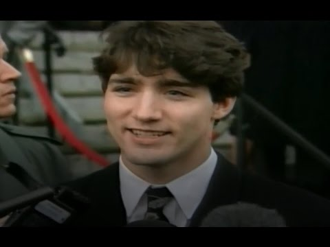 Young Justin Trudeau Speaks About Death of His Brother Michel Trudeau & His Father