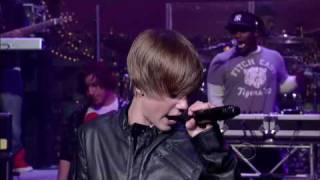 Late Show with David Letterman (2010-03-23) - Justin Bieber