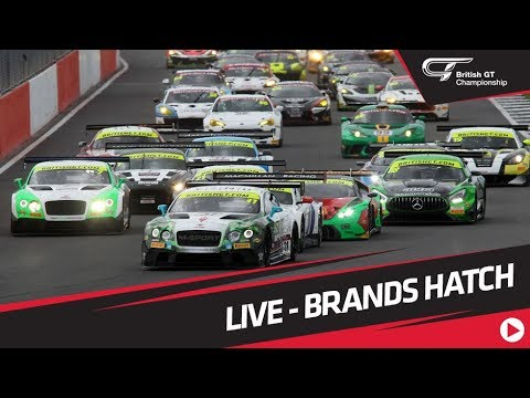 British GT - Brands Hatch - MAIN RACE - LIVE