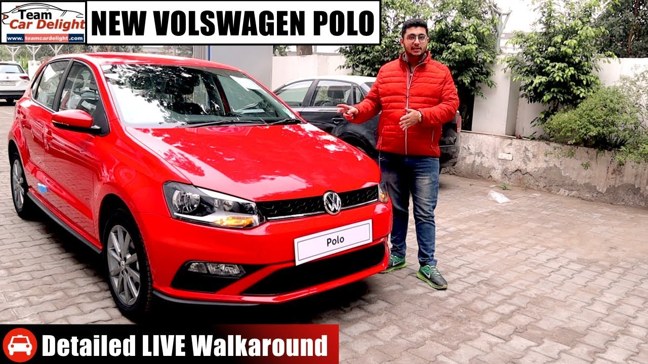 2020 Volkswagen Polo Highline Plus Detailed Live Walkaround Review On Road Price Team Car Delight Youtube