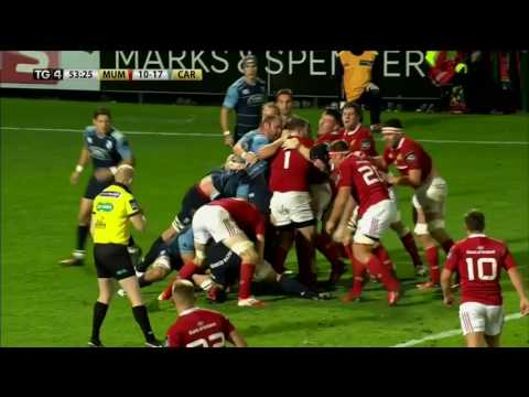 Round Two Highlights: Munster V Cardiff Blues   2016/17 Season
