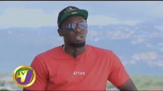 Usain Bolt: New Building & Riddim | TVJ Entertainment Report  | December 13 2019