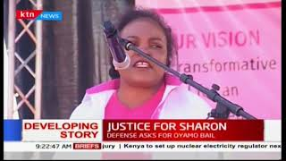 Kenya Women Parliamentary Association  issues two week to police complete sharons investigation