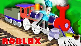 Поезд ПРИЗРАК никуда не ИСЧЕЗ | DAMON утроил КРУШЕНИЕ поезда в ROBLOX
