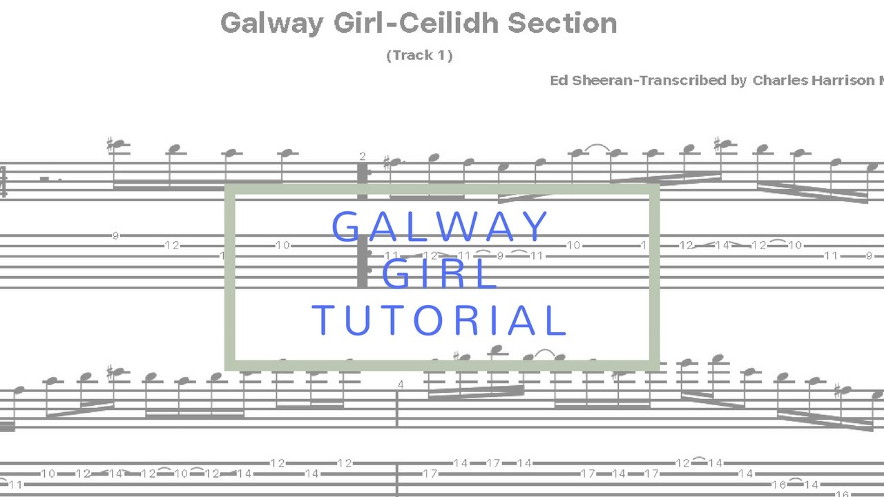 Old Fashioned Galway Girl Chords Guitar Collection Beginner Guitar