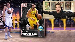 I PULLED PINK DIAMOND KLAY THOMPSON!!! NBA 2K19 Pack Opening