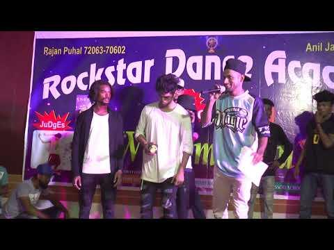 Rockstar dance academy  Present. Dance dil se judge by  Ashmon A jivanu sam paul  End. 6 eliment cro