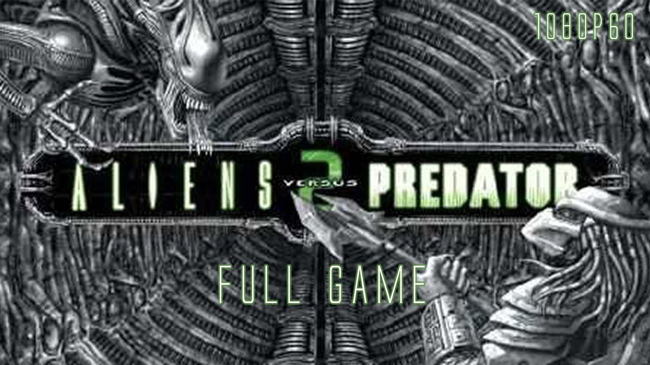 Aliens versus Predator 2 (PC 2001) – Full Game 1080p60 HD Walkthrough – No Commentary