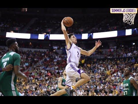 Lonzo Ball Full Highlights vs. Celtics - Triple Double - 11 Pts, 11 Reb, 11 Ast.