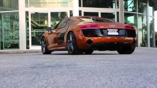 2014 Audi R8 V10 | Tubi Style Exhaust System (Standard Sound)