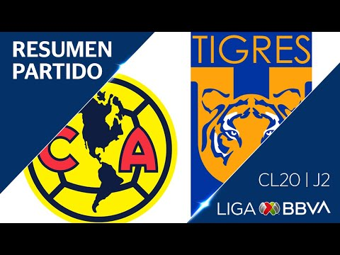 Resumen Y Gol | América Vs Tigres UANL | Jornada 2 - Clausura 2020 | Liga BBVA MX