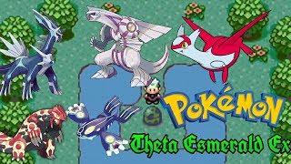 Caza de legendarios #6 Groudon y Kyogre primigenio, Dialga, Palkia y Latios - Pokemon Theta Esmerald