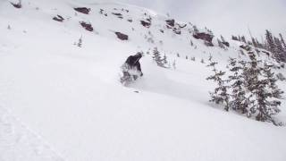 East Vail Backcountry Skiing: Cornice, Cliff Jump, and Powder Turns Thumbnail