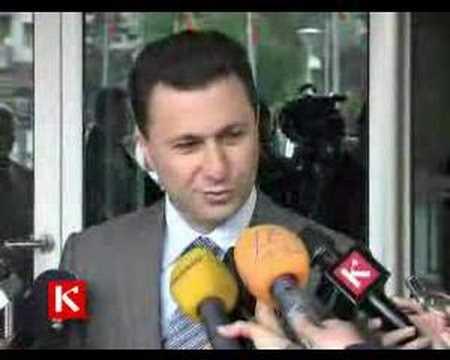 Nikola Gruevski 18.IV.2008