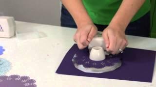 Tutorial and Review - Martha Stewart Crafts Circle Edge Punch Starter Set