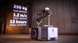Bigger, stronger, better: new LD-250 mobile robot from Omron moves payloads up to 250kg