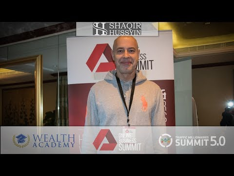Shaqir Hussyin Testimonial #252 •  Wealth Academy • Online Business Summit