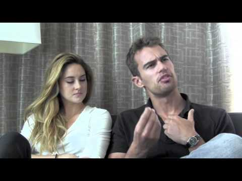 Divergent - Shailene Woodley & Theo James Talk 'Divergent' at SDCC