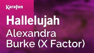 Karaoke Hallelujah - Alexandra Burke *