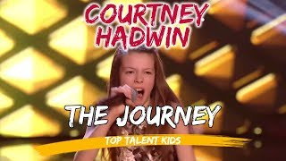 🌟 COURTNEY HADWIN 🌟 The Journey - TOP 5 and Preauditio...
