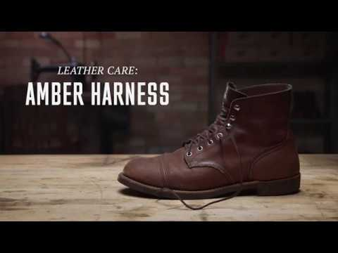 Red Wing Heritage - Amber Harness Leather Care