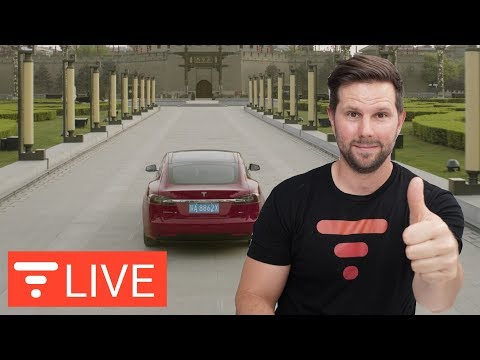 Tesla Dominates China Auto Show - Factory Coming Soon? [live]