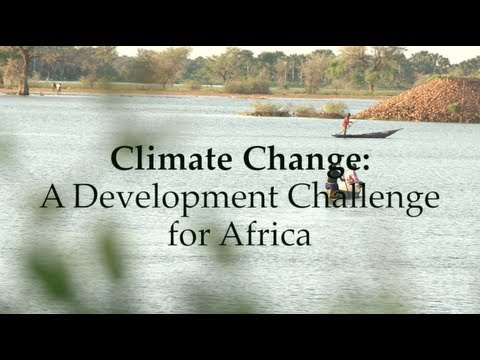 Climate Change-A Development Challenge For Africa