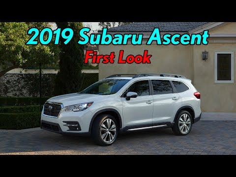2019 Subaru Ascent Touring: First Look
