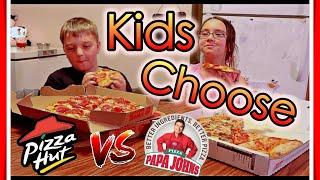 Pizza Hut Vs Papa Johns: Food Vs Food Children Edition