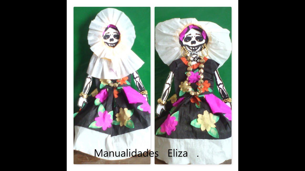 Como Vestir Calavera Con Papel Crepe Estilo Veracruz By