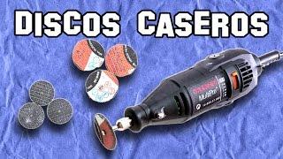 ✔ Cómo Hacer Discos Caseros para Dremel   How to Make Homemade Discs for Dremel