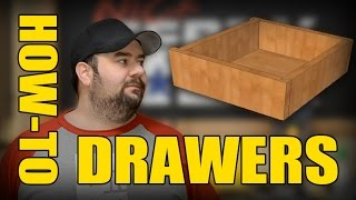How To MAKE Drawers for Cabinets & Furniture (ep61)