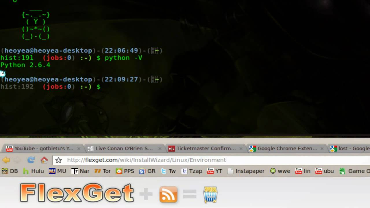 Auto Torrent RSS Part 1: Flexget Install - Linux Mint 8