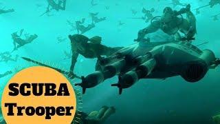 Clone SCUBA Trooper Lore - The Underwater Clone Troopers - Star Wars Clone Trooper Lore Explained
