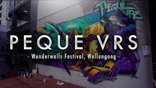 Wonderwalls Graffiti Festival 2017  PEQUE VRS