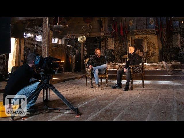 Eric Johnson Makes His 'Vikings' Debut | VIKINGS