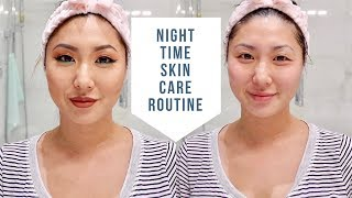 QUICK & EASY NIGHT TIME SKIN CARE ROUTINE