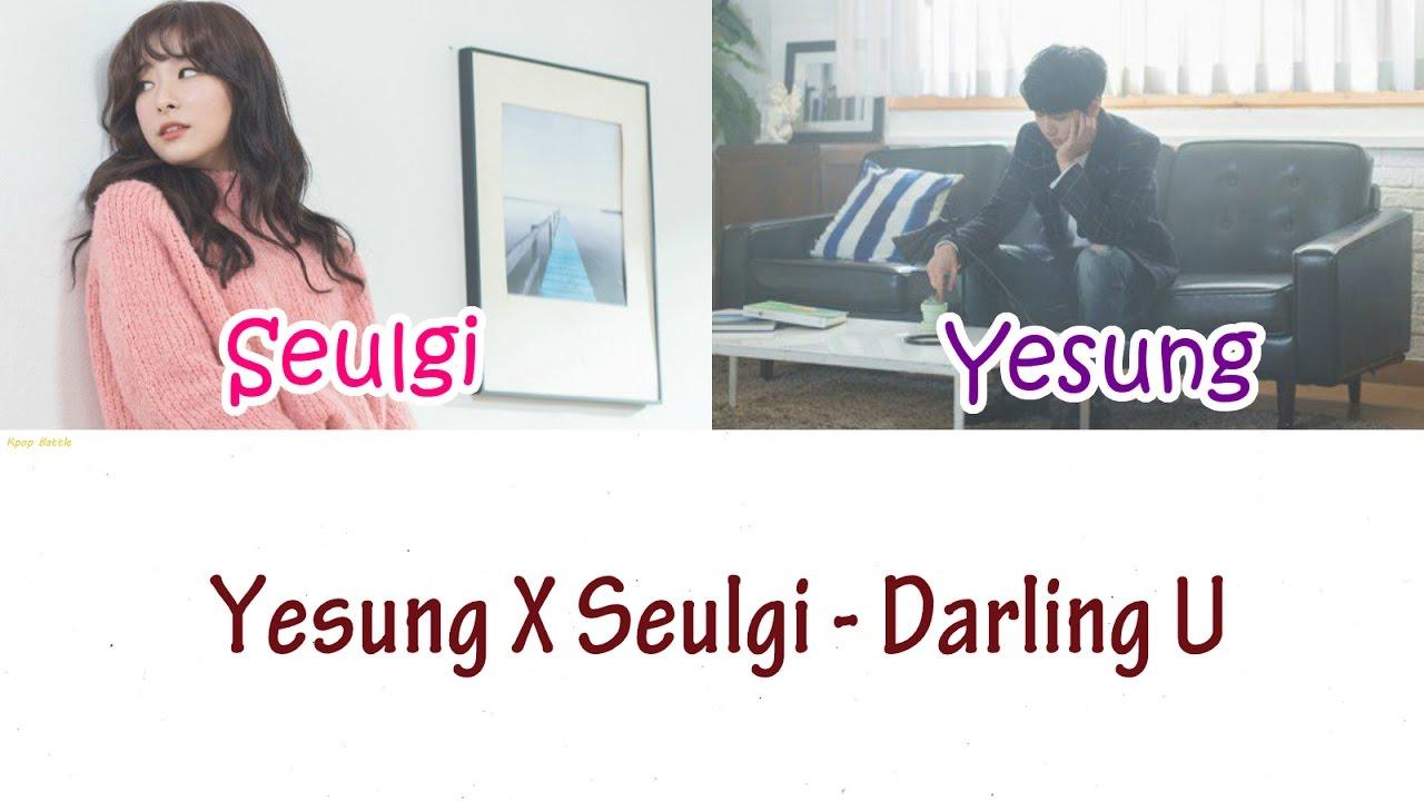Yesung X Seulgi - Darling U Lyrics [HAN|ROM|ENG]