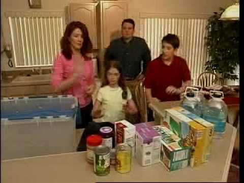 Disaster Supplies Kit Instructions -
