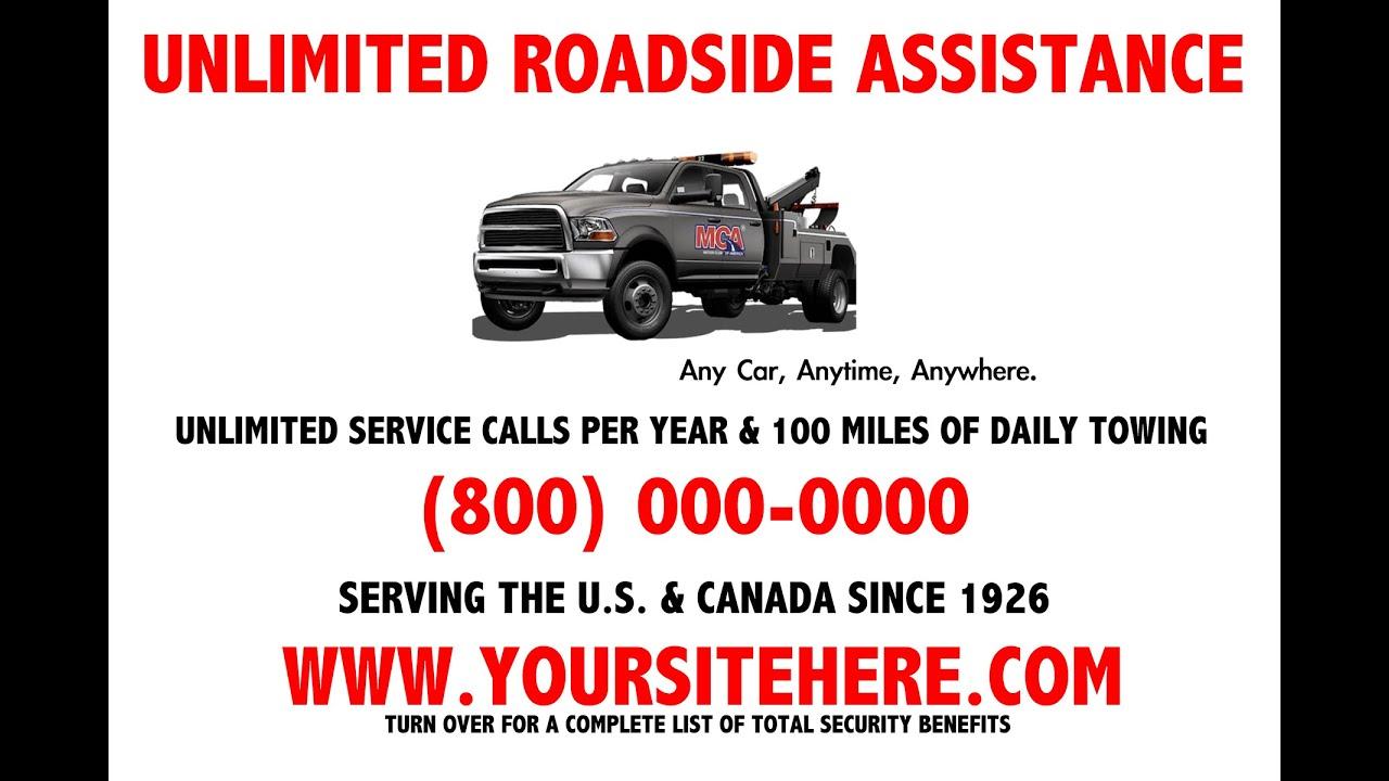 MCA - New benefit tow truck flyer, NO MCA logo! - YouTube