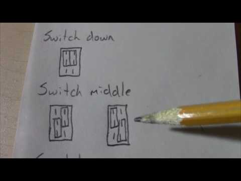 Two types of DPDT on/on/on switches...