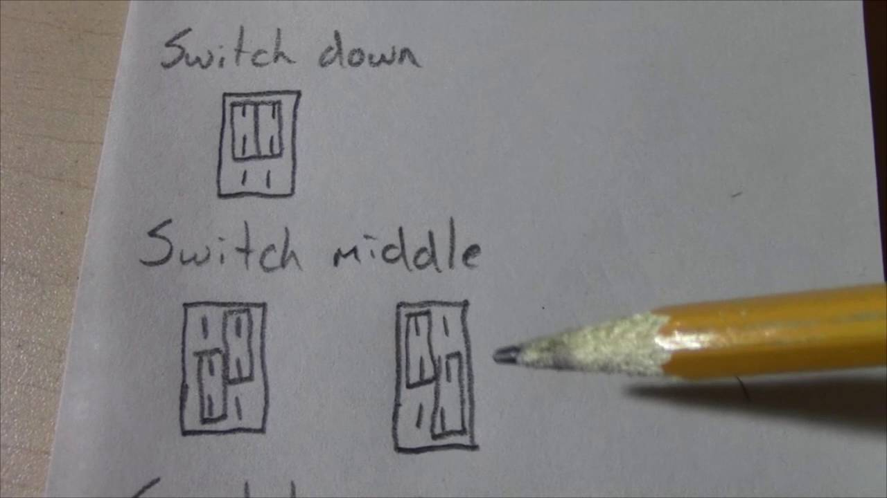 Two Types Of Dpdt On Switches Youtube Spdt Switch Switched To The Right