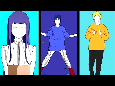 Naruto Tiktok Dance Animation Compilation ✨🔥