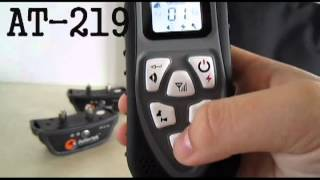 Aetertek At-219s Remote Dog Training Collar Set-up  Video Manual