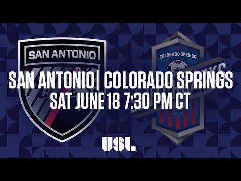 WATCH LIVE: San Antonio FC vs Colorado Springs Switchbacks FC 6-18-16