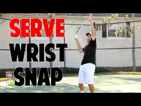 Tennis Serve Lesson | 3 Pieces of Wrist Snap Revealed