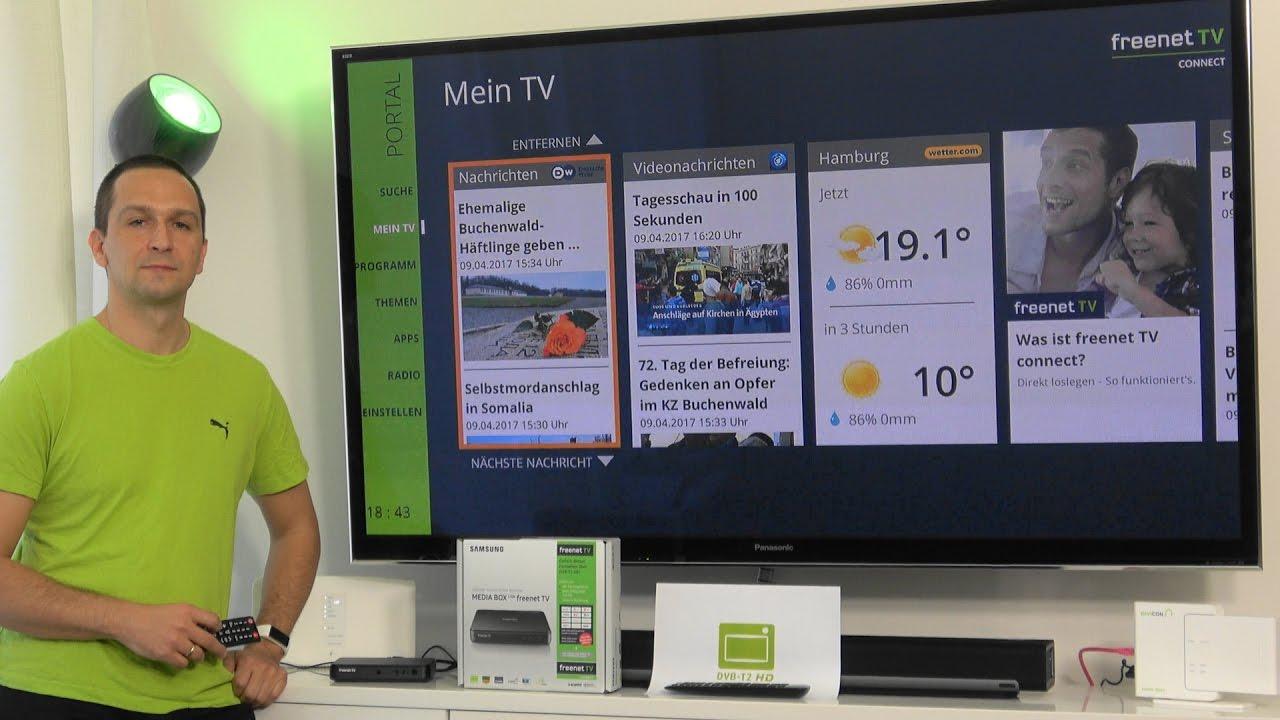 Freenet Tv Connect Perfekte Ergänzung Zum Dvb T2 Hd Fernsehen
