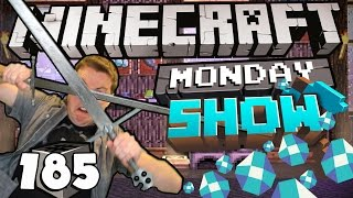 Minecraft Show #185 - THE TRAIN HAS LEFT THE STATION!